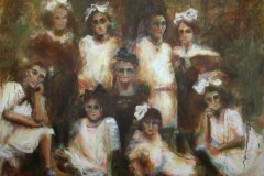 The Virgins of Kelm #2 | Oil on Canvas | 48x60