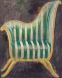 Store wide Clearance | Chair #4 | Acrylic & Mixed Media on Canvas|  36x24